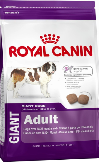 Корм для собаки Royal Canin Giant Adult, мешок 15 кг