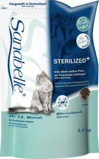 Корм для кошки Sanabelle Sterilized, мешок 2 кг
