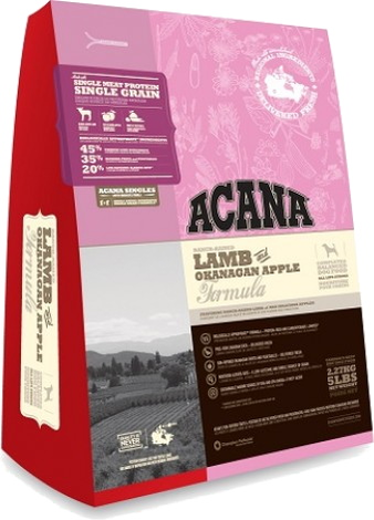 Корм для собаки Acana Lamb & Okanagan Apple, мешок 2 кг