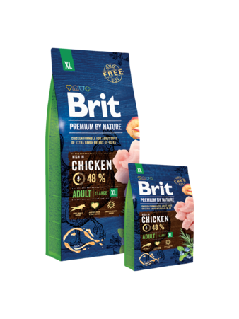 Корм для собаки Brit Premium Dog Adult S (для маленьких пород от 1-7 лет) для собак, мешок 8 кг (изображение 2)