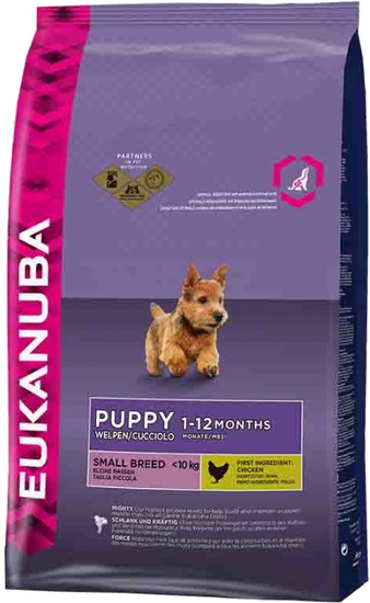 Корм для собаки Eukanuba Dog Puppy & Junior Small Breed, мешок 7,5 кг