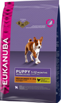 Корм для собаки Eukanuba Dog Puppy & Junior Medium Breed