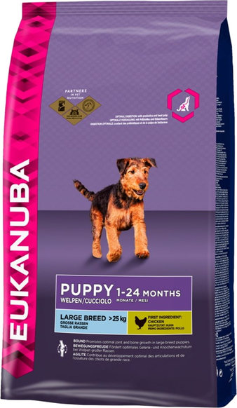 Корм для собаки Eukanuba Dog Puppy & Junior Large Breed, мешок 3 кг